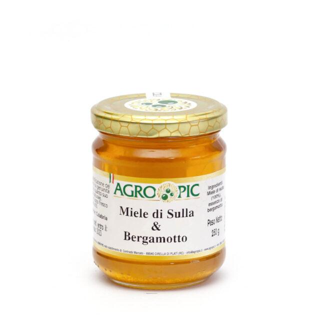 Miele di Sulla e Bergamotto Agro Pic