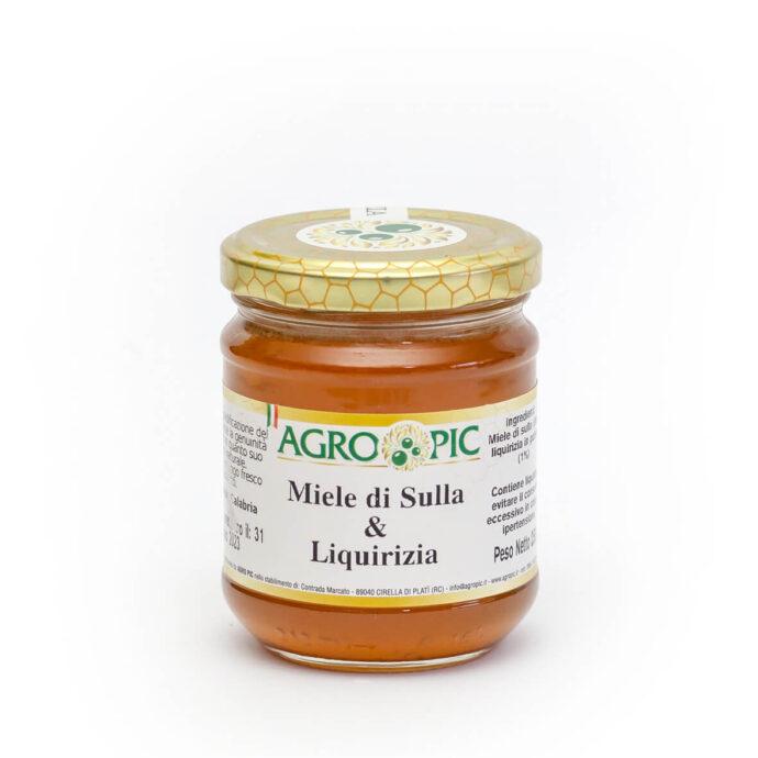 Miele di Sulla e Liquirizia Agro Pic