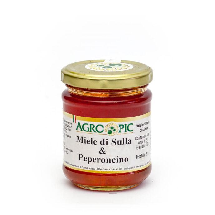 Miele di Sulla e Peperoncino Agro Pic