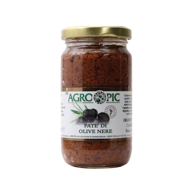 Patè di Olive nere Agro Pic
