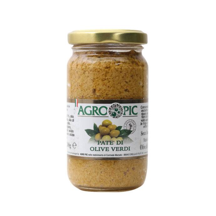 Patè di Olive verdi Agro Pic